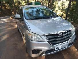 Toyota Innova 2014 Diesel Well Maintained ,remote key,