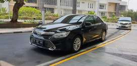Toyota Camry 2.5V At 2015 Hitam Antik Jarang Ada Low Km Record  Mulus