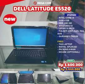 COD BISA, PROMO DELL E5520 CORE i5 RAM 4 GB 15 INCH NEW MURAH BERGARAN