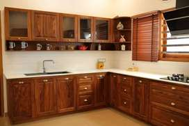 Modular kitchen works & false ceiling works