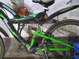 TATA Stryder gear cycle (neon green)