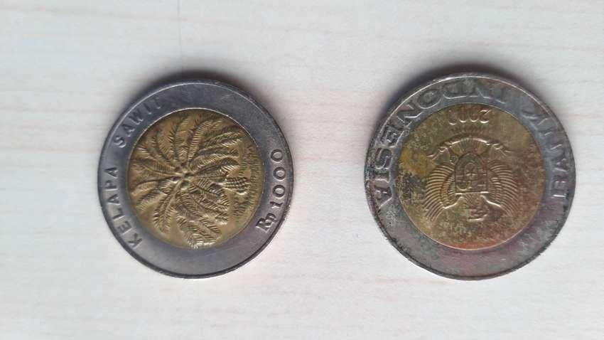 Uang Koin 1000 Kelapa Sawit 0