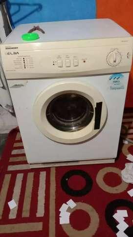 Mesin pengering laundry cash dan kredit