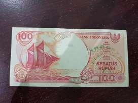 Uang kertas 100 tahin 1992