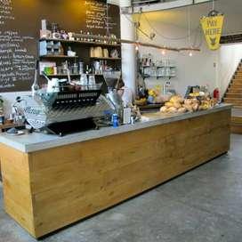 Meja bar meja kasir meja cafe coffeeshop coffeetable meja receptionist