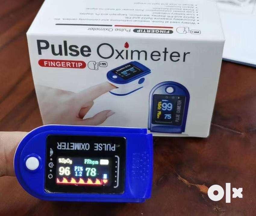 New Improved Instant Read OLED Digital Finger Pulse Oximeter
