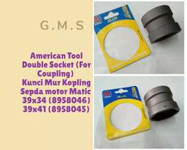 American Tool Double Socket (For Coupling) 39x34