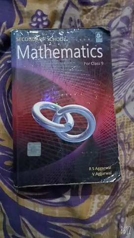 RS agrawal class 9 math's new 2020 good condition