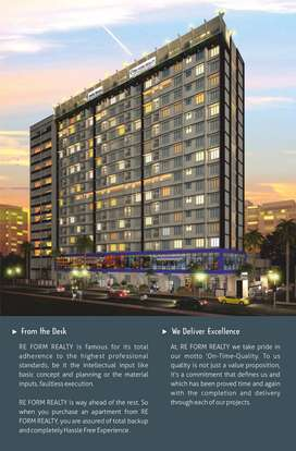 Ram Mandir East - 1 BHK 16th Storey Tower - 1BHK Smart Home