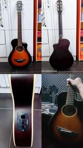 Gitar akustik yamaha apx t2 original 3/4