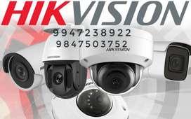 surveillance camera & installation