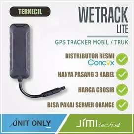 Distributor murah..! GPS TRACKER wetrack, alat keamanan motor/mobil
