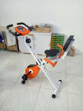 Sepeda Statis xbike TL 920 + Sandaran Total Fitness