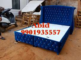 Top quality queen size full cushion cot with 10 years warranty t 11