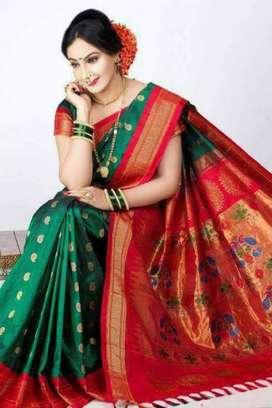 Silk saree new items