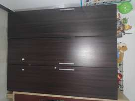 Wooden Almirah Wardrobe -3 years old in good condition