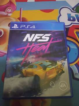 Kaset game ps 4 NFS HEAT second like new