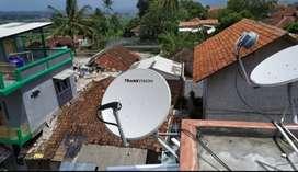 Antena Parabola Transvision HD Tangsel paket hemat promo setahun 790rb