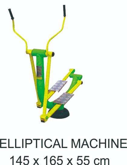 Elliptical Machine Outdoor Fitness Garansi  1 Tahun 0