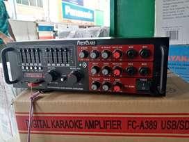 Audio Power amplifier karaoke