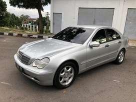Mercedes benz c180 kompressor 2004 murah full original