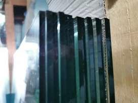 Kaca bening / polos 5mm ASAHIMAS ukuran 91.5 x 203