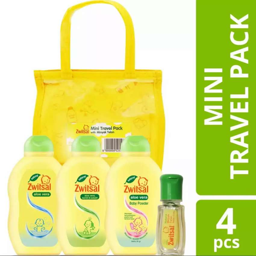 Zwitsal Travel Pack Mini Baby Bath & Baby Hair lotion 0