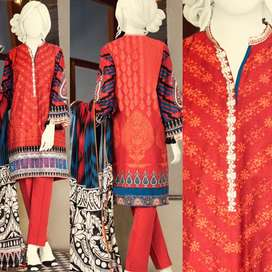 Junaid Jamshed Cambric 3pc unstitched