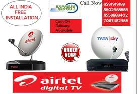 Tata Sky & Airtel DTH New Connection