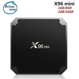 X96 mini OS Android Nugauy 7.2 RAM 2G ROM 16G CPU Amlogic S905W