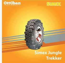 Ban size 31x9.5 R16 Simex jungle trekker buat offroad