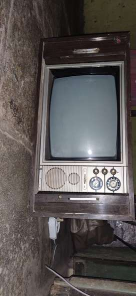 Old TV Antique Piece 1975 Model