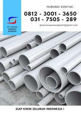 PIPA PARALON PVC MASPION, TRILLIUN READY STOCK