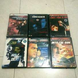 Koleksi Kaset Film DVD Original Action/Drama Steven Seagel