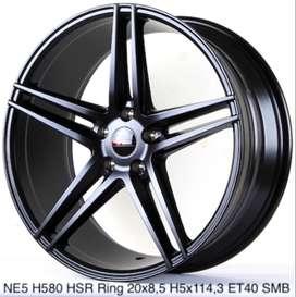 velg mobil HSR ring 20 untuk civic turbo