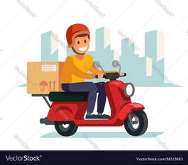 Immediately need a food delivery boys in Ramagundam