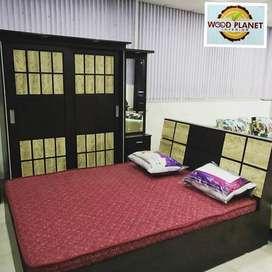 Brand New Attractive Design Bedroom Set In Factory Rate