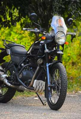 Royal enfield Himalayan bike in good condition with insurance
