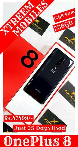 OnePlus 8..12/256..Just 25 Days Used..