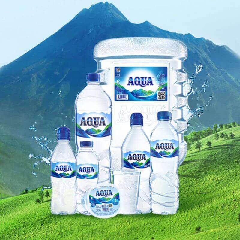 Air minum AQUA paling murah se kecamatan I Avanza Xenia Calya Sigra L 0