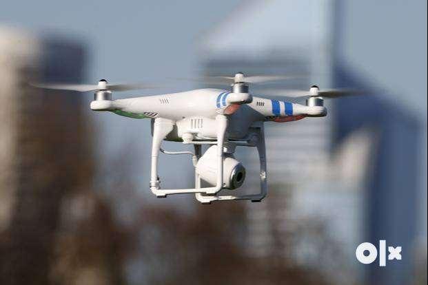 Drone camera Quadcopter with hd Camera white or black Colour 0