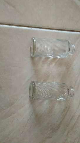 Botol kaca 30ml model belimbing tanpa tutup