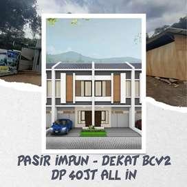Heboh rumah keren di Bandung Timur DP 40jt an di area pasir Impun