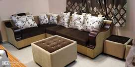 New Corner sofa set Direct factory outlet 3years warranty