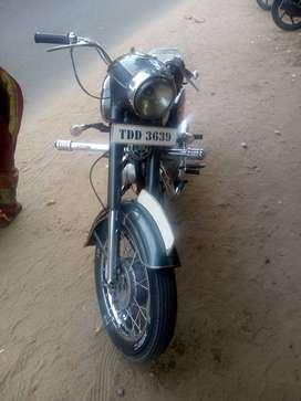 Old model jawa bike