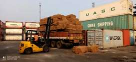 Our is a coir exports factory...