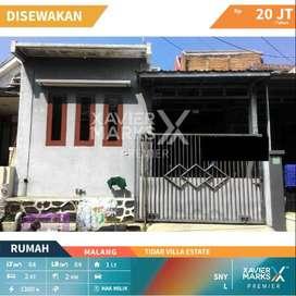 Disewakan Rumah Tidar Villa Estate Kota Malang Siap Huni , Nyaman