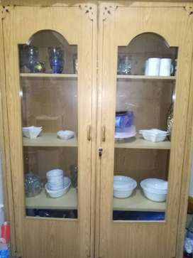 Crocery two door cupboard