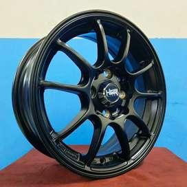 Velg Mobil Karimun Ring 14 HSR Wheel MISAKI Black