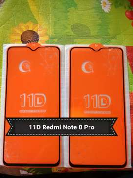 Full Layar Full Lem Tempered glass Renote 8 pro